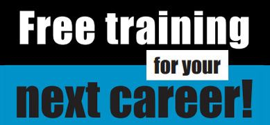 Free Training For Your Next Career